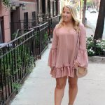 West Village Charm and the Perfect Blush Dress