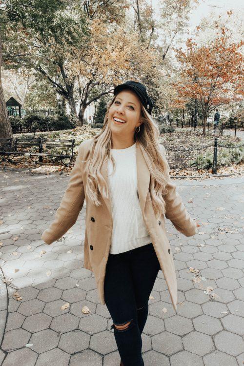 fall camel coat