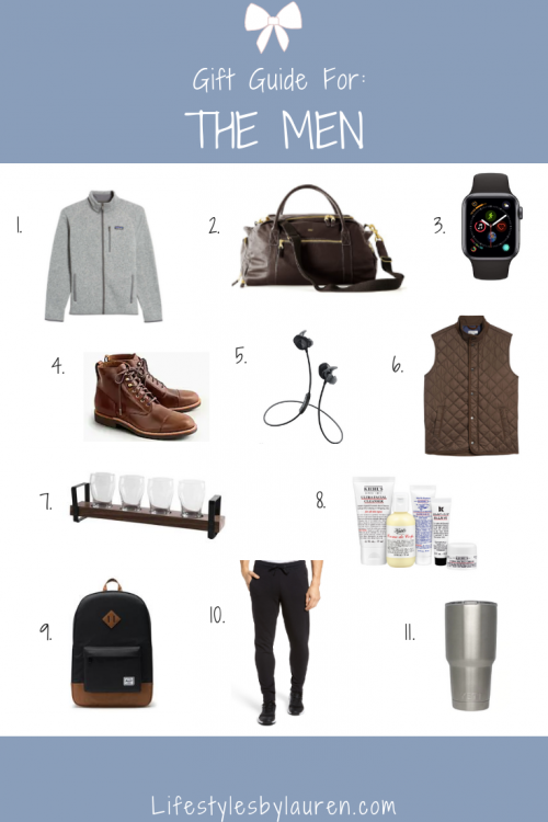 gift guide for the men