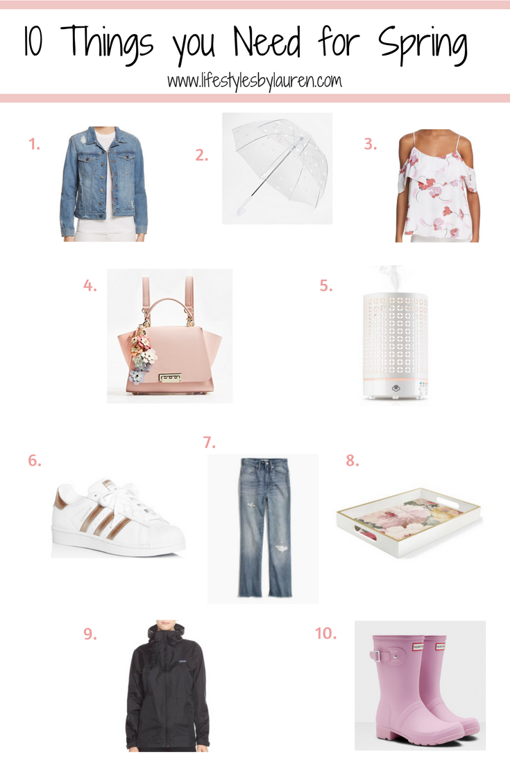 Spring Must-Haves